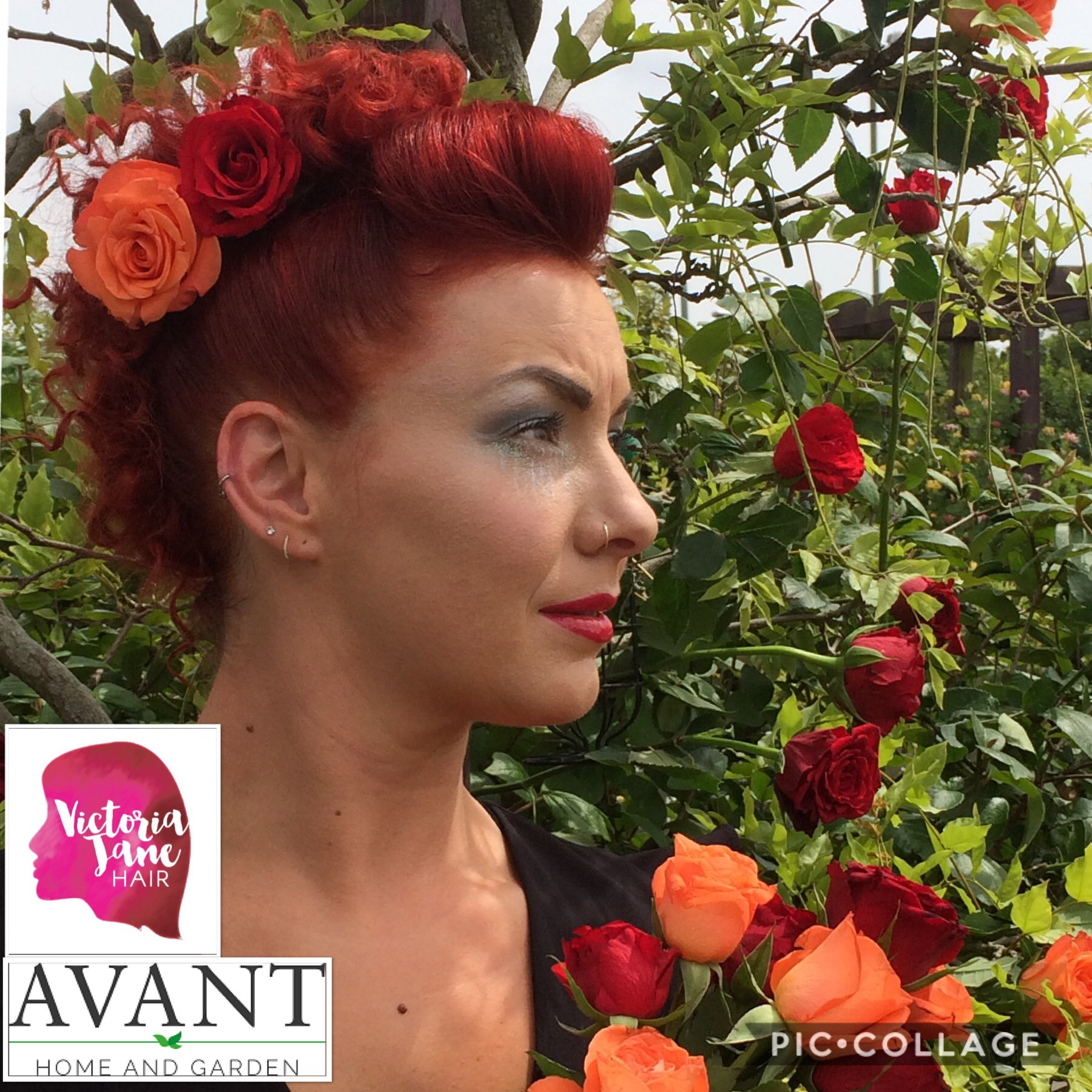 Style your garden – and your hair
