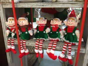 christmas elf friends