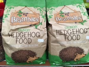 hedgehog food 2 for £20